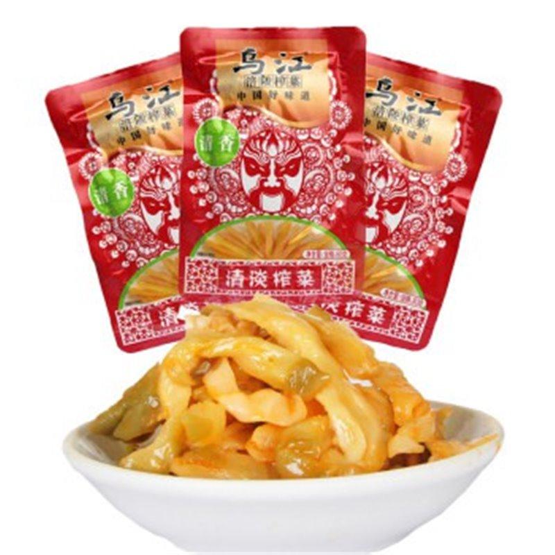 重庆特产乌江涪陵榨菜-清淡口味80g