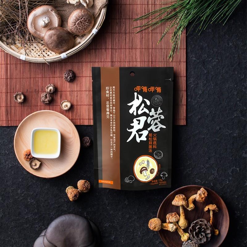 呷哺呷哺 姬松茸菌汤火锅底料180g 火锅调料炖菜煮汤调味料