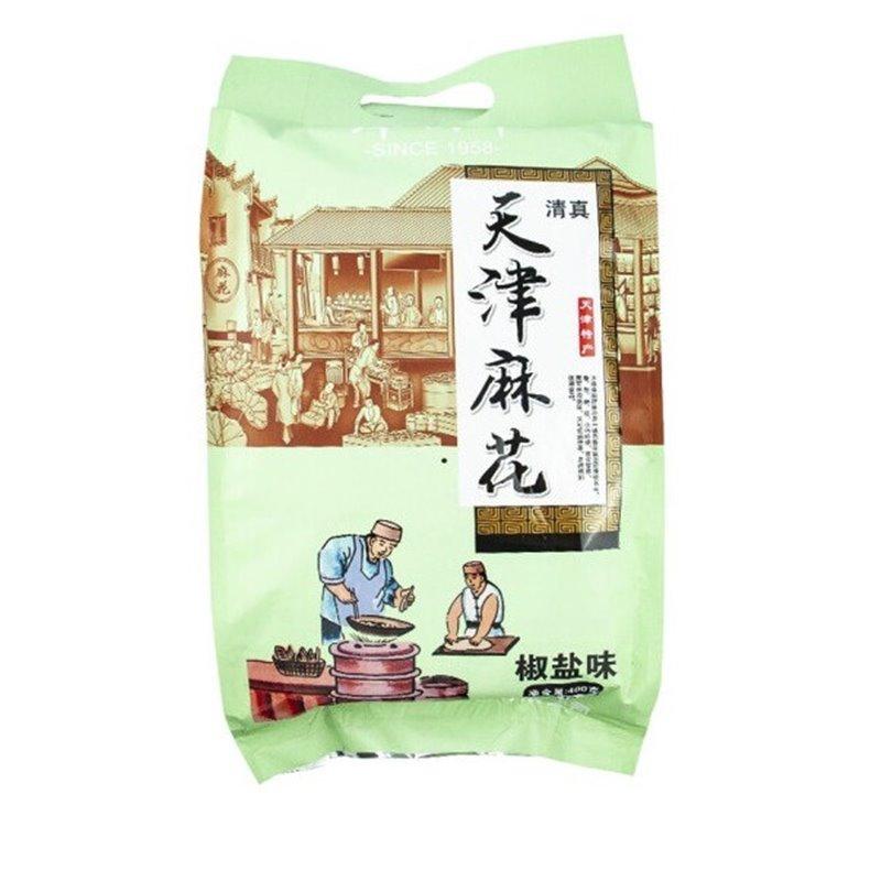 津顺祥天津麻花袋装椒盐味 400g