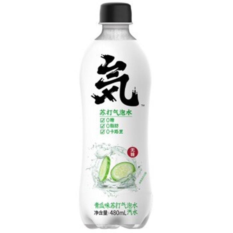 元气森林 青瓜味苏打气泡水 480ml