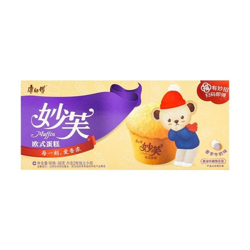 康师傅 妙芙欧式蛋糕 奶油味 96g