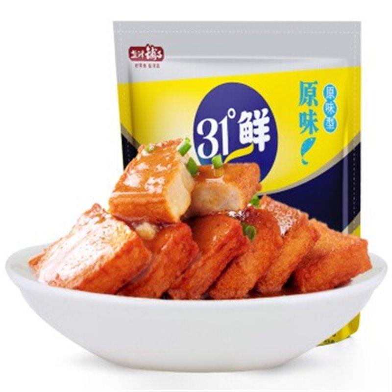 盐津铺子 鱼豆腐 原味 85g